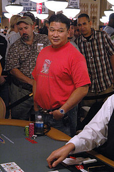 Der Pokerspieler Johnny Chan