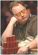 "Der Pokerspieler Greg ""Fossilman"" Raymer"