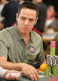 Der Pokerspieler Juan Carlos El Matador Mortensen