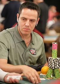 """Der Pokerspieler Juan Carlos """"El Matador"""" Mortensen"""
