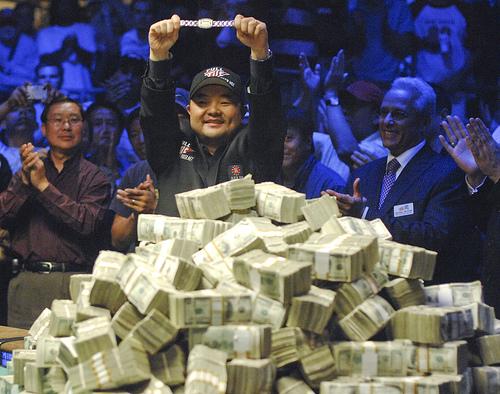 Der Pokerspieler Jerry Yang